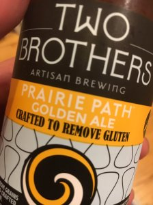 Two brothers Golden Ale