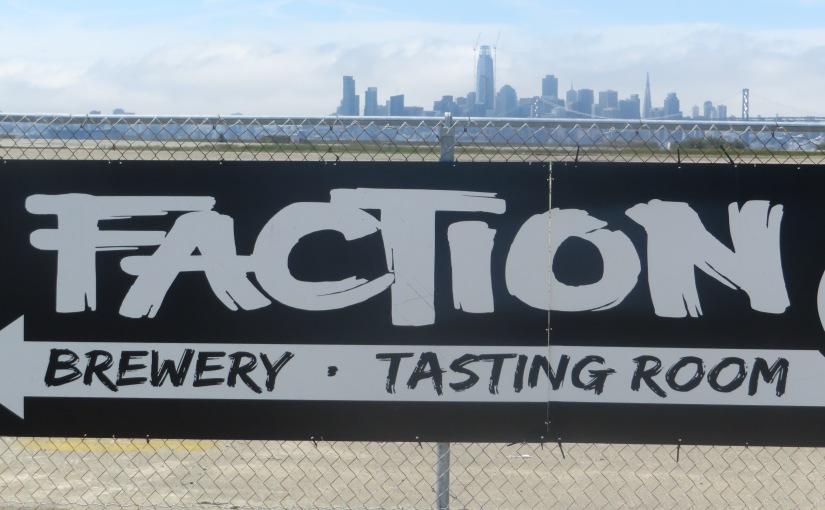 Scenes from Faction Brewing