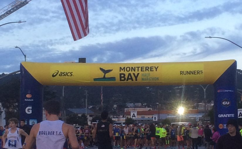 Still not too old for this shit at the Monterey Bay Half-Marathon