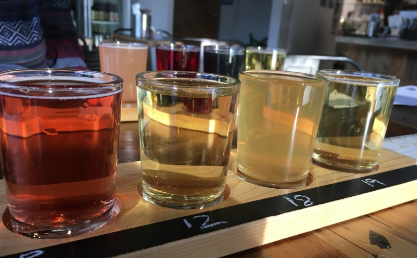 Checking out The Cider Junction in SanJose