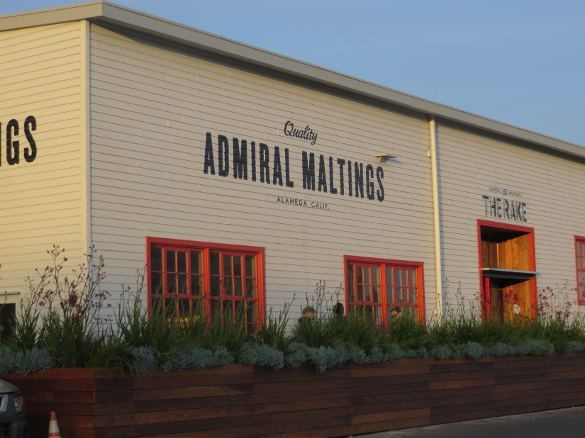 Scenes from The Rake at Admiral Maltings and the Almanac Barrel House Brewery andTaproom