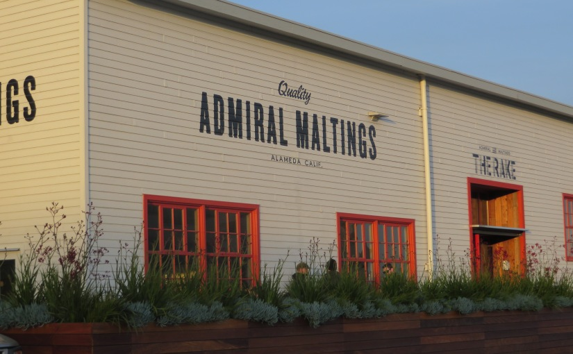 Scenes from The Rake at Admiral Maltings and the Almanac Barrel House Brewery and Taproom