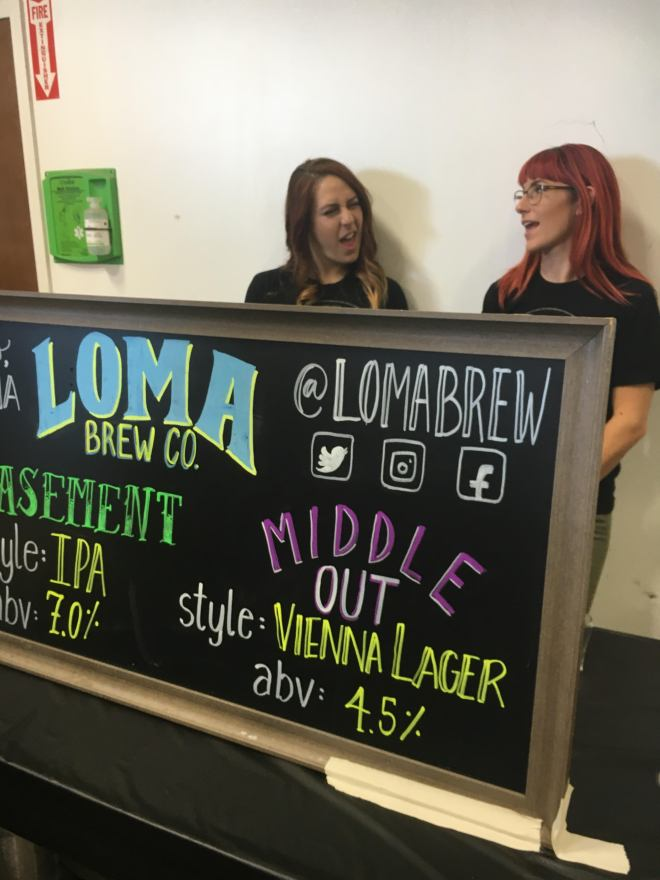 Loma Meet the Brewers