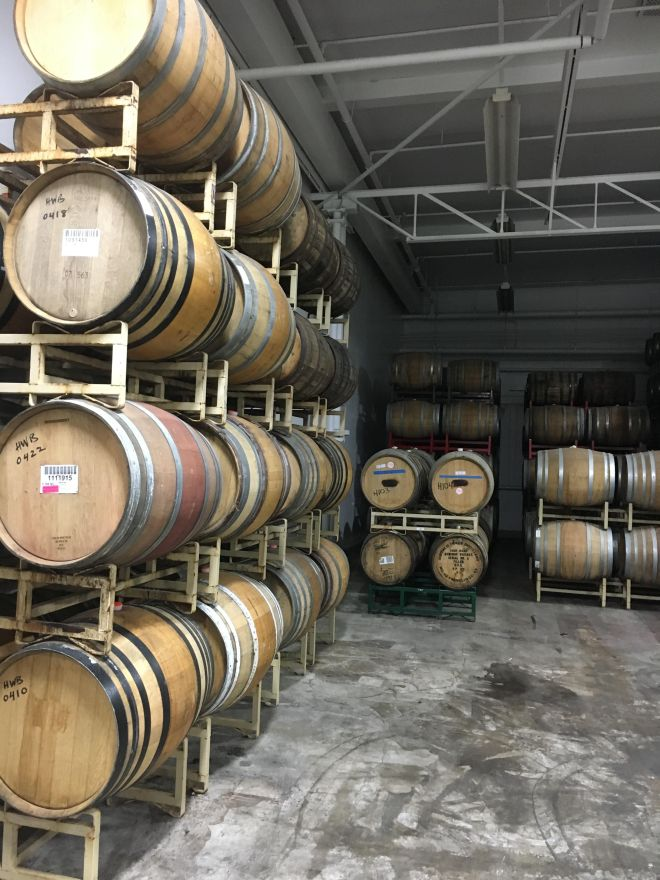 Hermitage Barrels and fermenters2