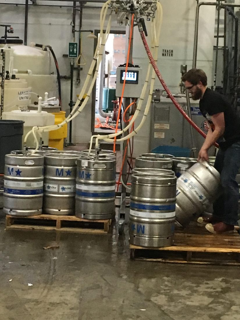 Brewers, especially those at small breweries, are paid less than comparableprofessions
